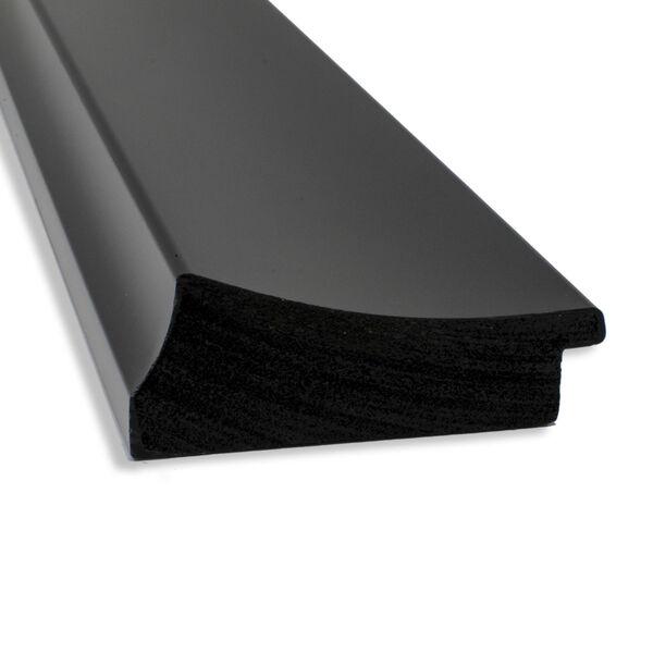 Black 44W X 34H-Inch Bathroom Vanity Wall Mirror, image 4