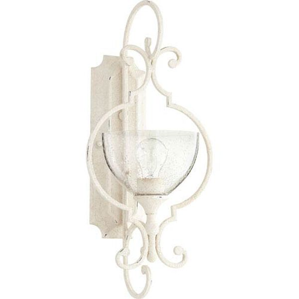Acacia White One-Light Wall Sconce, image 1
