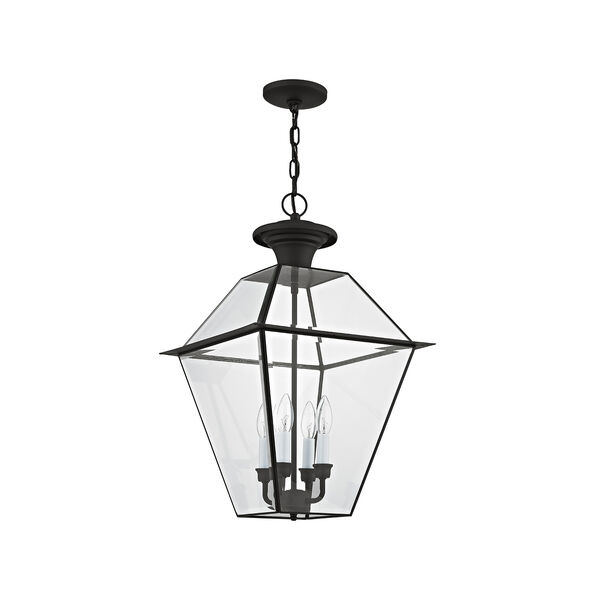 Westover Black Four-Light Outdoor Chain Hang, image 2