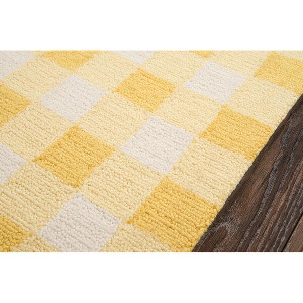 Geo Yellow Rectangular: 7 Ft. 6 In. x 9 Ft. 6 In. Rug, image 4