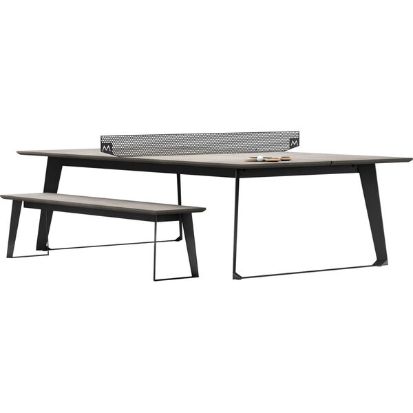 Amsterdam Gray Concrete Ping Pong Table, image 4