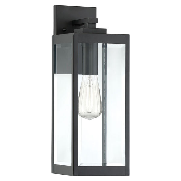 Westover Earth Black 17-Inch One-Light Outdoor Wall Sconce, image 2