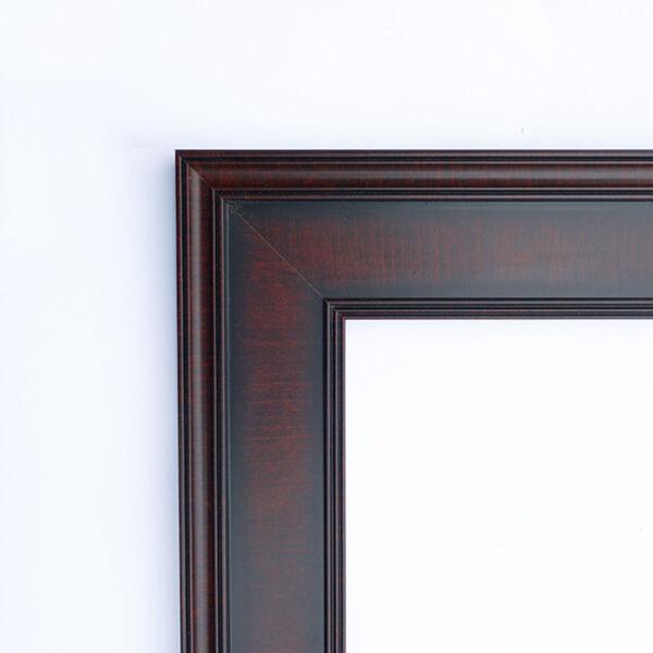 Annatto Mahogany 23W X 29H-Inch Decorative Wall Mirror, image 2