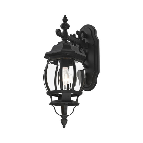 Frontenac Textured Black One-Light Outdoor Wall Sconce, image 3