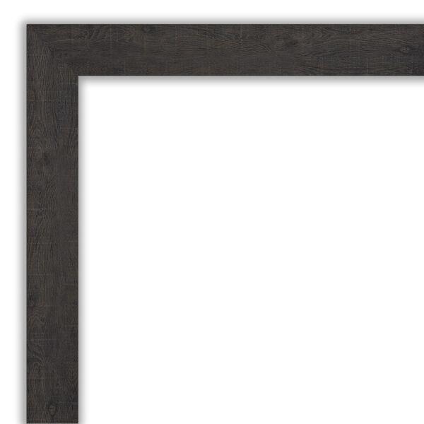Espresso Frame 33W X 27H-Inch Bathroom Vanity Wall Mirror, image 2