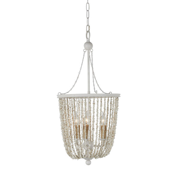 Jenny Coral White Chandelier, image 2