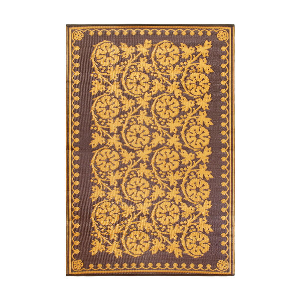 Cinquefoil 4 x 6 Floor Mat Cinnamon, image 2