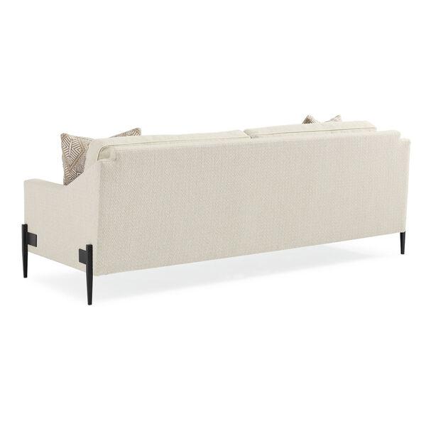Modern Artisan Remix Ivory Sofa, image 2