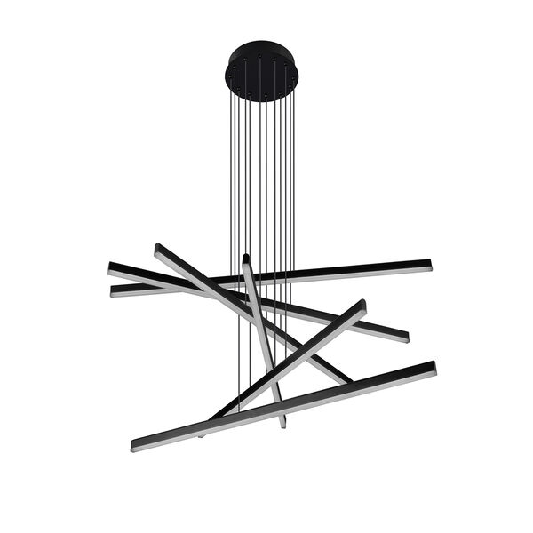 Sirius Black Six-Light LED Pendant, image 5