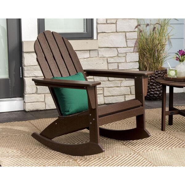 Vineyard White Adirondack Rocking Chair, image 2