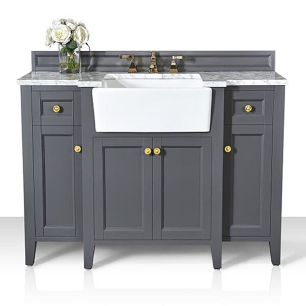 Adeline Sapphire 48-Inch Vanity Console with Farmhouse Sink, image 4