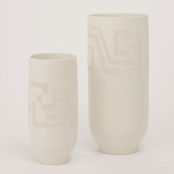 Studio A Home Matte White Small Chaco Vase, image 1