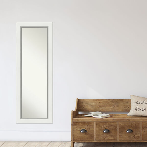 Eva White and Silver Full Length Mirror, image 6