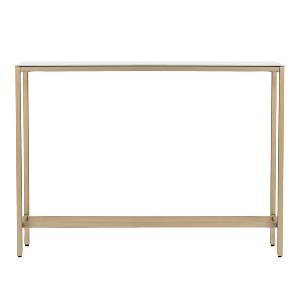 Darrin Metallic Gold 36-Inch Console Table, image 4