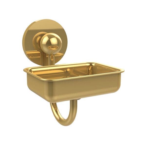 Prestige Skyline Polished Brass Wall-Mounted Soap Dish, image 1