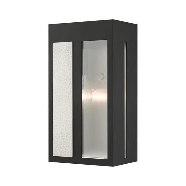 Lafayette Black Six-Inch One-Light Outdoor ADA Wall Sconce, image 1