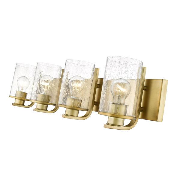 Beckett Olde Brass Four-Light Bath Vanity, image 6