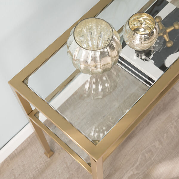 Jaymes Soft Gold 43-Inch Console Table, image 2