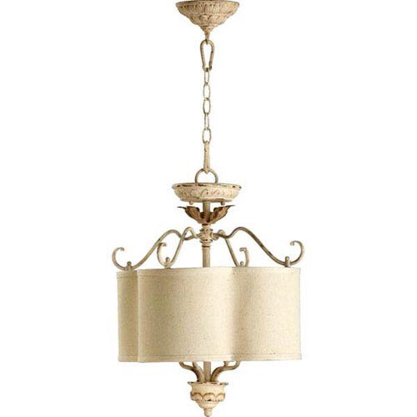 Salento Persian White Four-Light Dual Mount Pendant, image 1