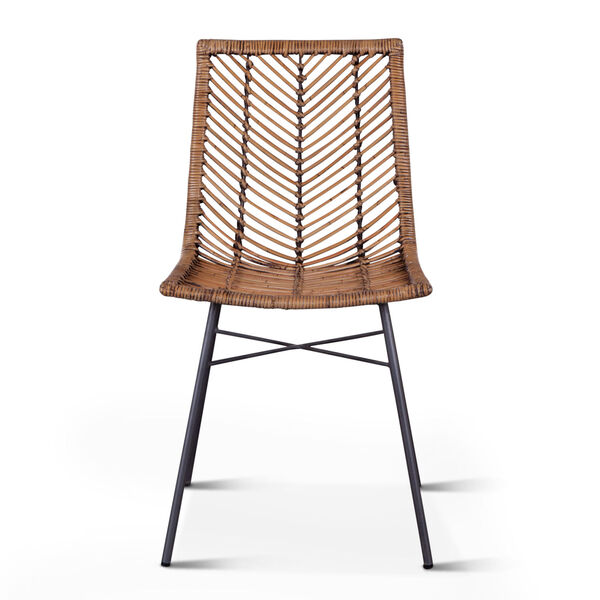 Bali Brown Honey Washed Dining Chair, Set of 2, image 1