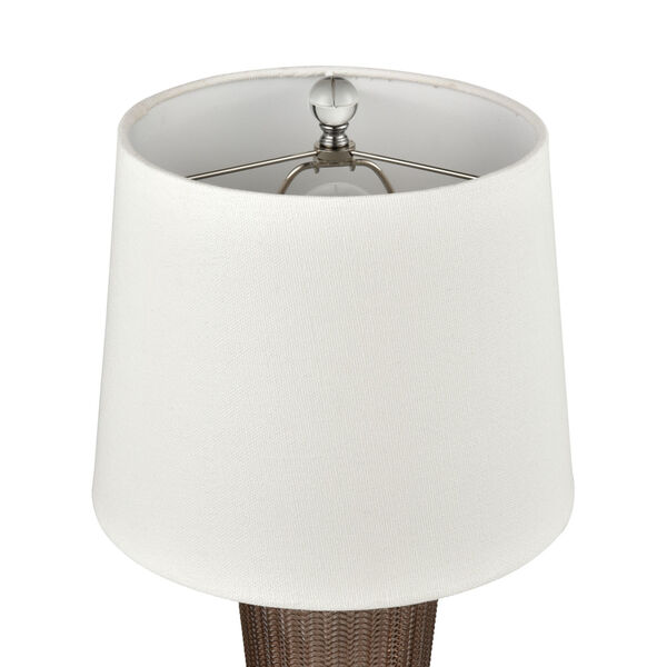 Prosper Autumnal and Coffee Plated One-Light Table Lamp, image 3