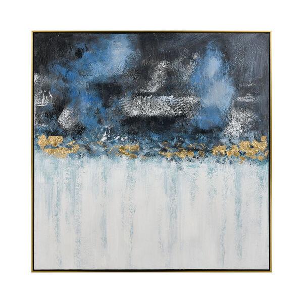 Acrylic Blue Wall Art, image 1
