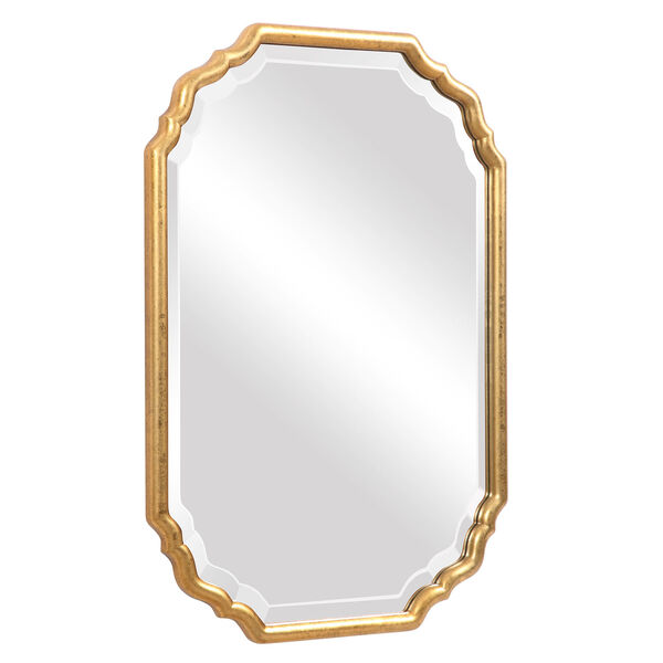 Cooper Gold Framed Wall Mirror, image 3