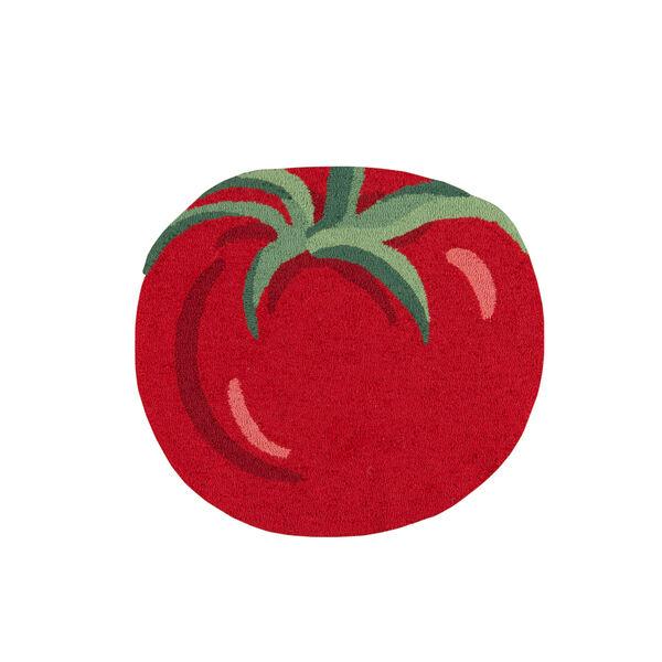 Cucina Red Rectangular: 2 Ft. 6 In. x 2 Ft. 9 In. Rug, image 1