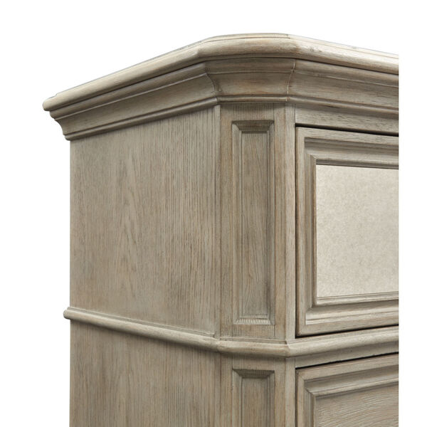 Jocelyn Weathered Taupe Drawer Chest, image 5