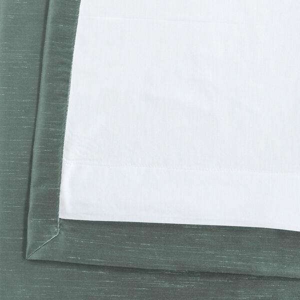 Teal 120 x 50 In. Faux Dupioni Silk Single Panel Curtain, image 6
