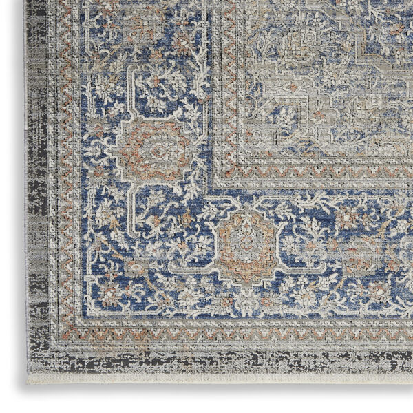 Starry Nights Blue Rectangular: 5 Ft. 3 In. x 7 Ft. 3 In. Area Rug, image 5