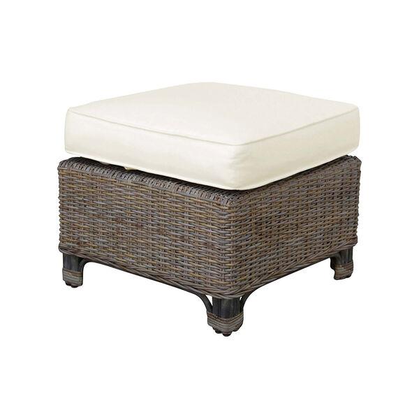 Exuma Ottoman with Cushion, image 1