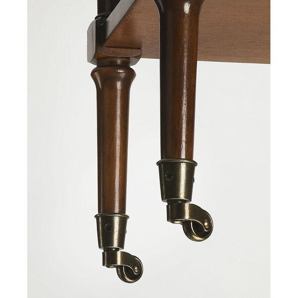 Brown Bar Cart, image 4