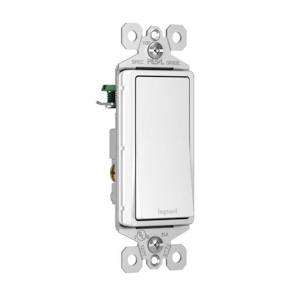 White 15A 3-Way Switch, image 2