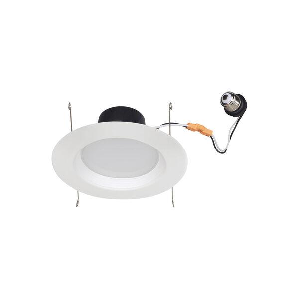 Traverse White Six-Inch T24 3000K 90 CRI LED Recessed Light, image 1