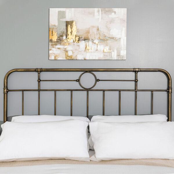 King Bronze 84-Inch Bronze Metal Pipe Bed, image 6