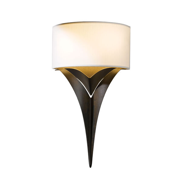 Calla Bronze Two-Light 10-Inch Wall Sconce, image 1