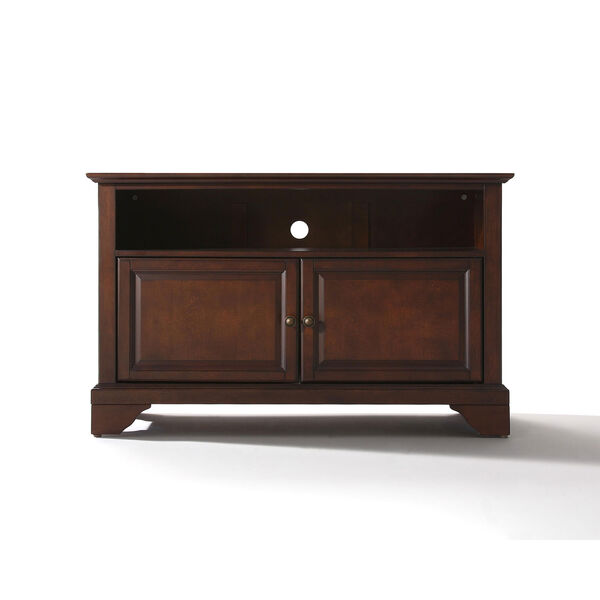 LaFayette 42-Inch TV Stand in Vintage Mahogany Finish, image 1
