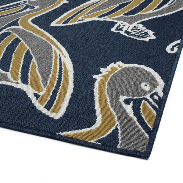 Navy Pelican Indoor/Outdoor Rug, image 5