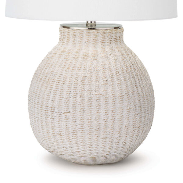 Hobi White One-Light Table Lamp, image 3
