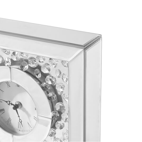 Sparkle Crystal 10-Inch Square Table clock, image 4