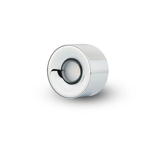 Node Polished Chrome 8W Round LED Flush Mounted Downlight, image 3