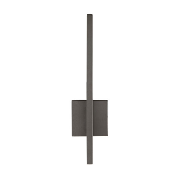 Simba Aged Iron Two-Light LED Outdoor Wall Sconce, image 1