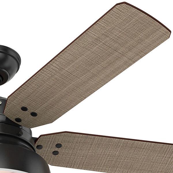 Mill Valley Matte Black 52-Inch One-Light LED Adjustable Ceiling Fan, image 4
