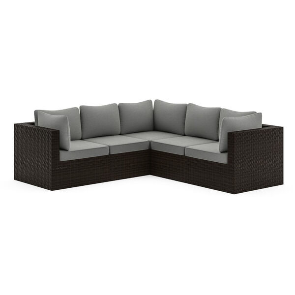 Cape Shores Brown Three-Piece Patio Sectional Set, image 3