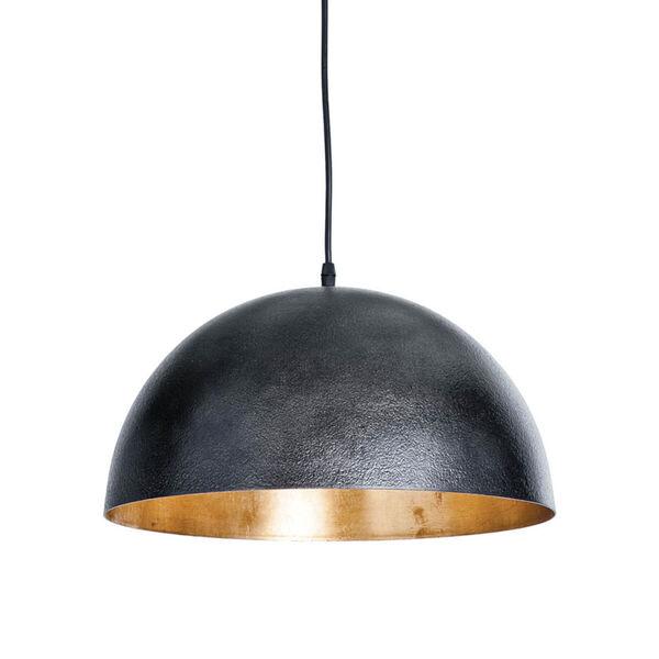Sigmund Blackened Steel One-Light Pendant, image 1