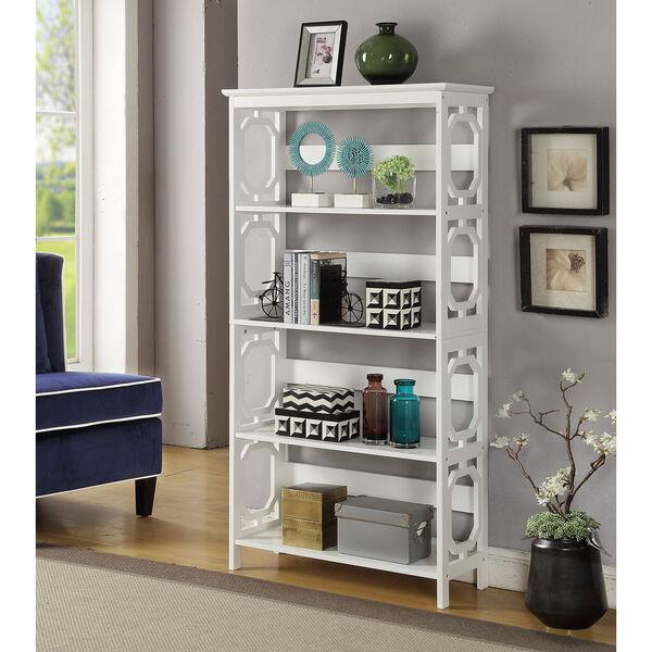 Omega 5 Tier Bookcase, image 3