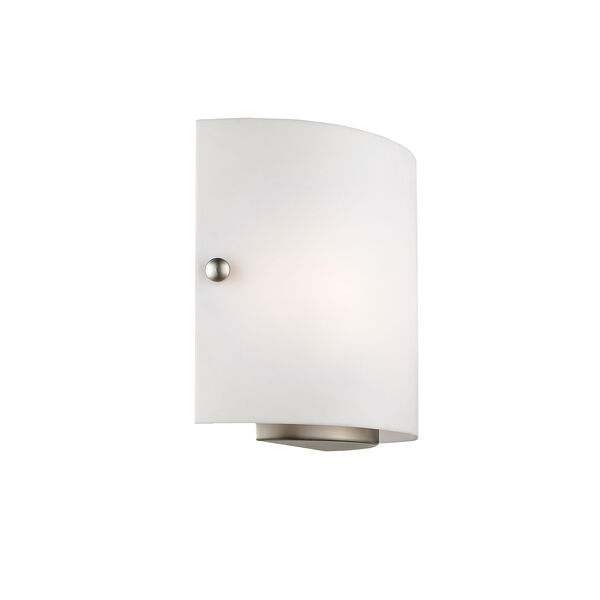 Brushed Nickel Two Light 8.75-Inch Wall Sconce, image 4