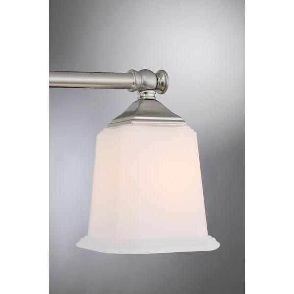Nicholas Brushed Nickel Five-Light Bath Light, image 5