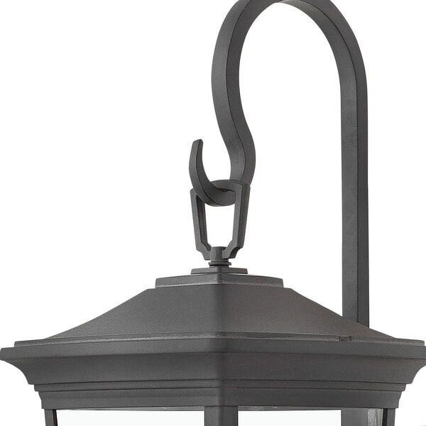 Bromley Museum Black 20-Inch Two-Light Outdoor Small Wall Mount, image 2